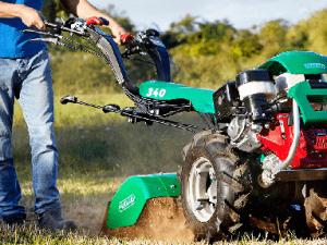Tuinfrezen en tractoren